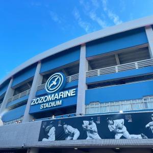 ZOZOマリンスタジアム★シートMロッソで野球観戦