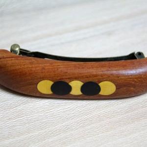 木製バレッタ(大)