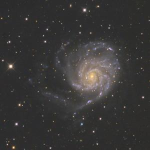 M101回転花火銀河