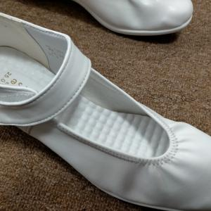 白靴をセルフデコ
