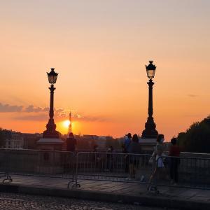 綺麗な夕焼け@PARIS