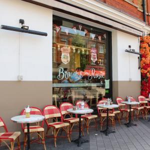 ♡【ロンドン旅行】カラフルなだけ?ひと目で気に入ったカフェレストラン♡