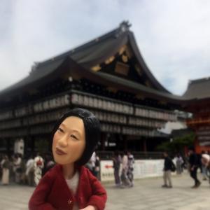 フィギュアと行ってきたプチ旅行写真☆八坂神社