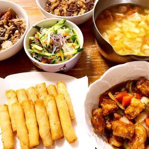 最近の晩御飯、コストコレポ(パルマプロシュート、三元豚ロースとんかつ、カヌレ、ディップ)