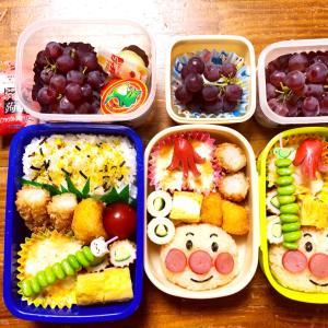 最近の晩御飯、学童園児弁当とコストコレポ(タスカンキャンタロープメロン、しめじ)