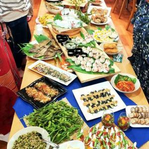 料理教室の納涼会