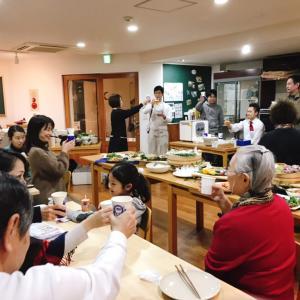 料理教室の忘年会!