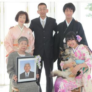 成人式の前撮りは「家族の幸せ」を未来の年老いた自分に贈るチャンスです。神戸の成人式はえり正へ