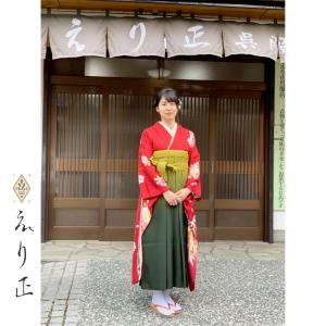 神戸市北区で袴の着付け、レンタルはえり正にお任せください!!|神戸市北区 えり正