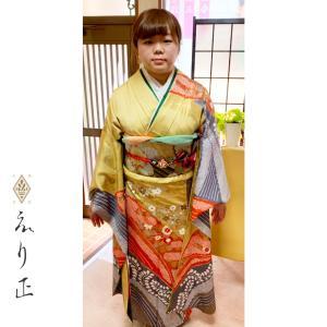 母振袖、叔母振袖☆成人式に向けて、小物合わせで喜びの声を頂戴しました♩ |神戸市北区 えり正