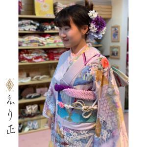 成人式振袖♩小物合わせでキラリと輝く美しさ&可愛いさを表現⭐️|神戸市北区 えり正