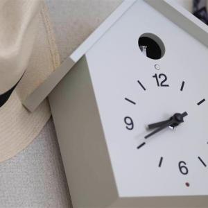 ▽毎正時 きれいに鳴くよ ハト時計