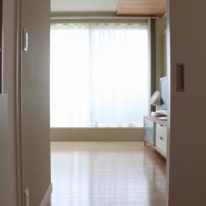 寝室の収納見直し