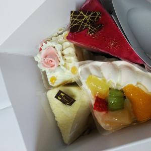北海道みやげのお店のケーキでお誕生日をお祝い