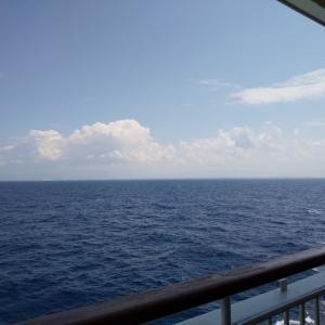 快適な船旅でした