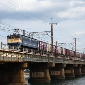 瀬田川鉄橋にて5087レ