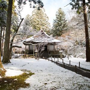 雪の大原  三千院