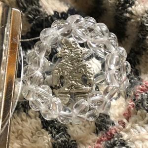 フラーレンin銀偶さんペンダント