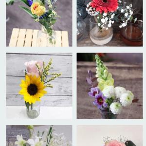 お花の定期便を試してみる事にしました♡