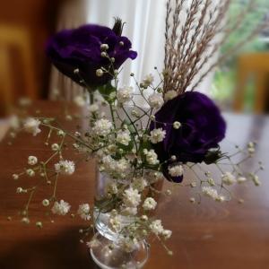 今週のお花の定期便が届きました