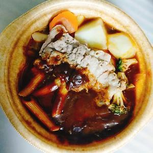 はじめてテイクアウトで、beef stew
