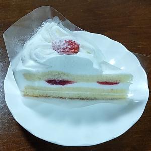 おやつに食べようと思っていたショートケーキ