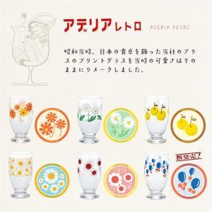 【アデリアレトロさんの復刻グラスの新柄「風船」、当店では31日から店頭販売予定です!】