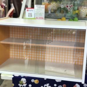 【お待たせしました、明日明後日は勢いよく営業しています! ~お手軽にどこでも便利な食器棚~】
