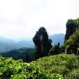 日本二百名山 妙義山  中間道 大砲岩 編