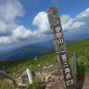 日本百名山 伊吹山 (1,377.3M)    登頂散策 編