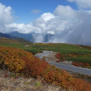 日本百名山 乗鞍岳 (3,025.6M)   畳平下山編