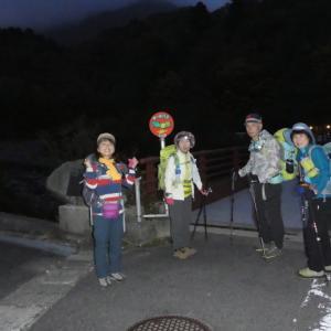 日本百名山 大山 (1,709.4M)    登頂 編 NO 1