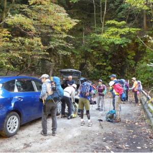 久しぶりに登った 日永岳 (1,215.8M)     登頂 編