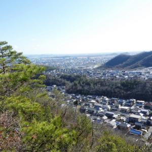 久しぶりに登った 三峰山 (232M)      登頂 編