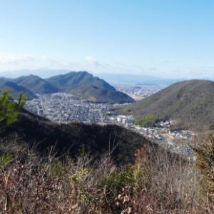 久しぶりに登った 三峰山 (232M)     下山 編