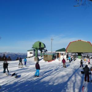 雪の鷲ヶ岳 (1,671.5M)    NO 2 登頂 編