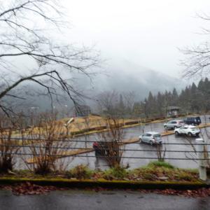 雨と雪の蕪山 (1,068.9M)      登頂 編
