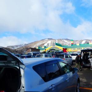日本二百名山  雪の大日ケ岳  ゴンドラ山頂駅 編