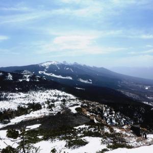 強風吹き荒れる 北横岳 (2,480M)      登頂 ・下山 編
