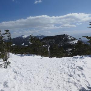 八ヶ岳連峰が美しい 縞枯山 (2,403M)   登頂 編