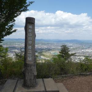 花の鳩吹山 (313.5M)    登頂・下山 編   part 3
