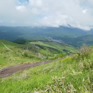 レンゲツツジ咲く 車山高原 (1,924.7M)   登頂 編