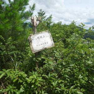 梅雨の晴れ間 金華山 (328.9M) 洞山 編