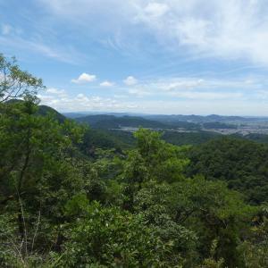大岩見晴台登頂 (335M) ・ 下山 編