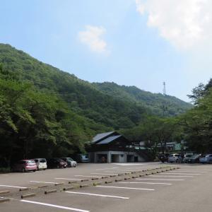 靄が発生していた   明王山 (380M)    登頂 編