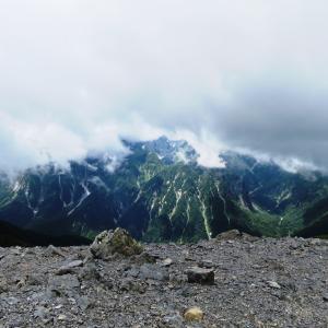 蝶ケ岳 (2,677M)   山頂に到着 編