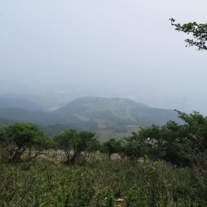 日本百名山 伊吹山 (1,377.3M)    下山 編