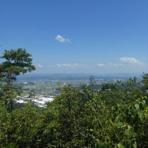 天気が悪くなる 明王山 (380M)     下山 編