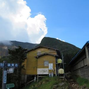久しぶりに登った 硫黄岳 (2,760M)   登頂 編   part 2