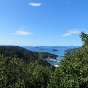 熊野灘を見ながら  姫越山 (502.6M)    登頂 編 part 1